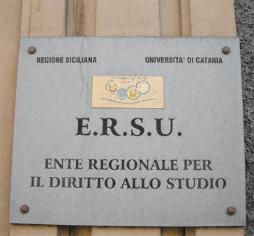 Ersu Catania per borse di studio ai fuorisede