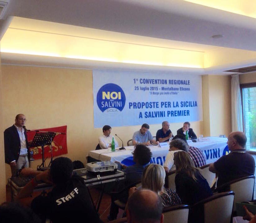 Prima assemblea regionale siciliana di Noi con Salvini