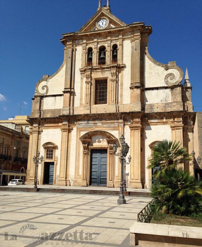 Chiesa Madre e piazza Duomo di Augusta