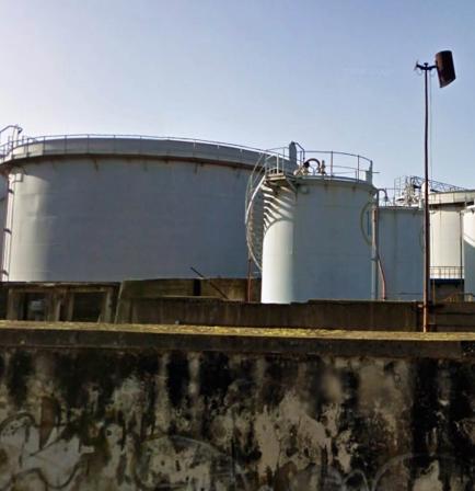 Deposito costiero Maxcom Petroli ad Augusta