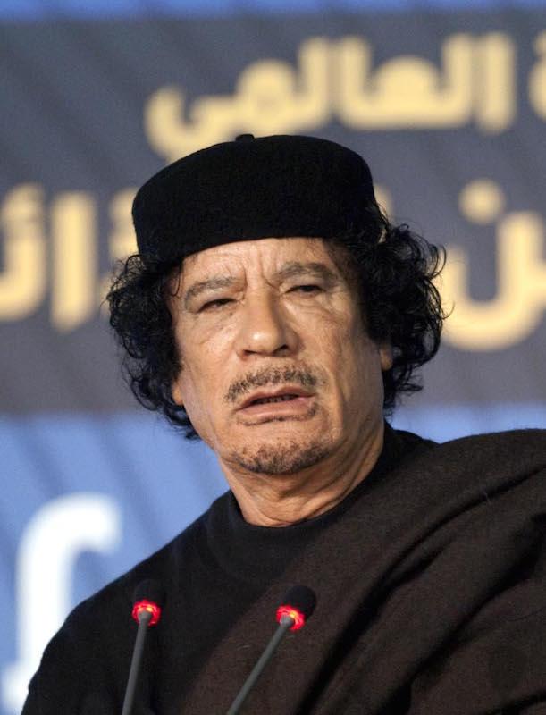 Gheddafi e gli sbarchi ad Augusta
