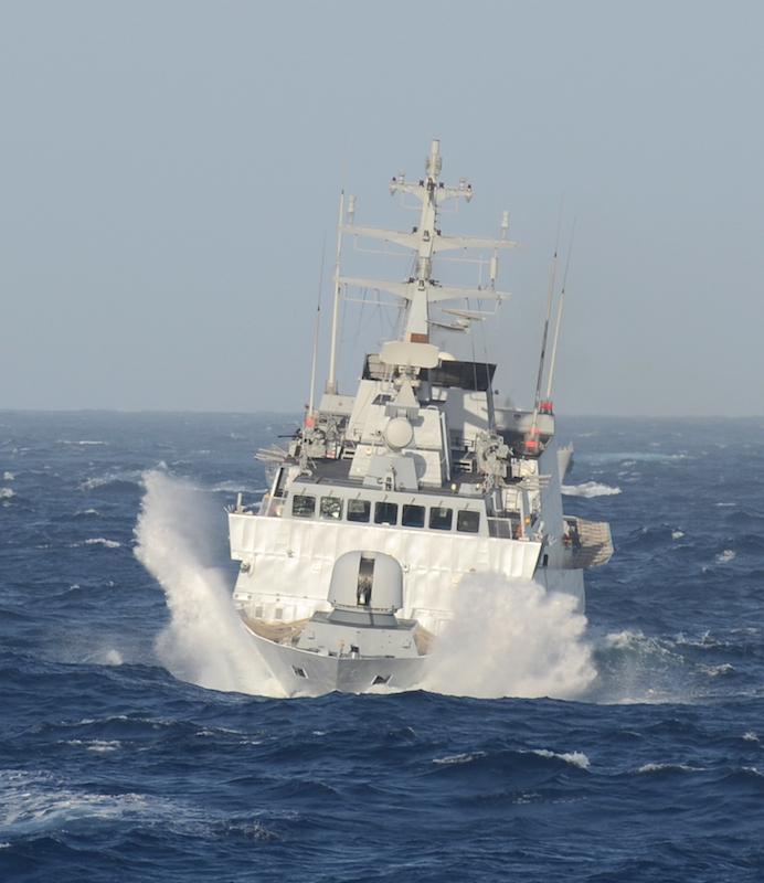 Comandante Cigala Fulgosi della Marina Militare impiegato nel soccorso migranti