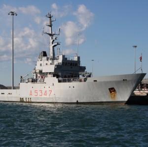 Nave Gorgona recupera salme migranti