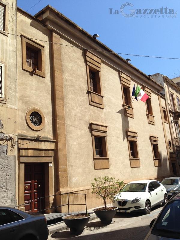 Palazzo San Biagio sede del Consiglio comunale di Augusta