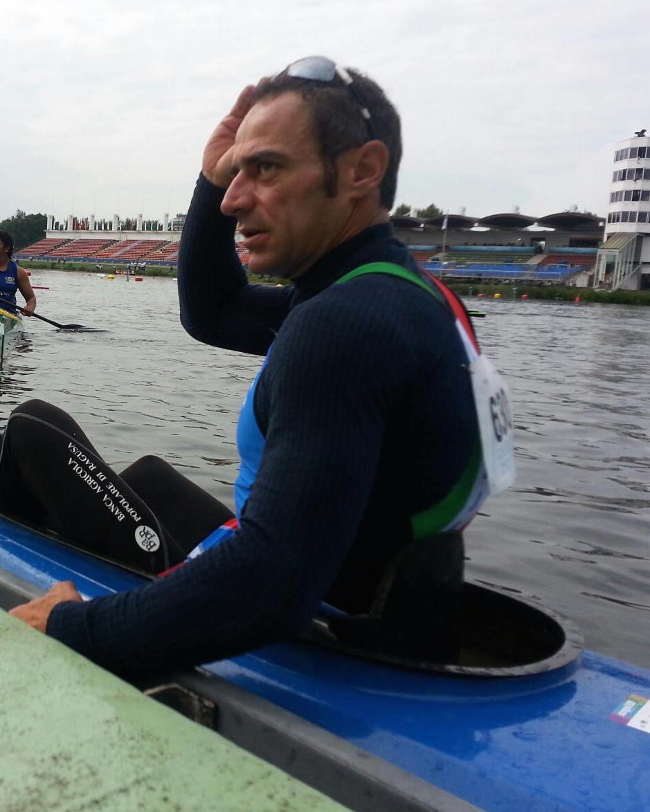 Salvo Ravalli atleta paralimpico augustano canoa kl1