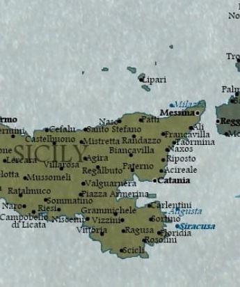 Sicilia nel 2100 secondo Jay Simons