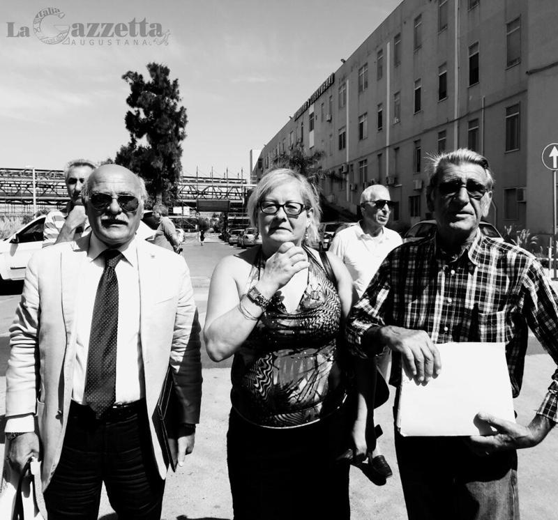 Sit-in del 31 luglio 2015 a difesa dell'ospedale Muscatello