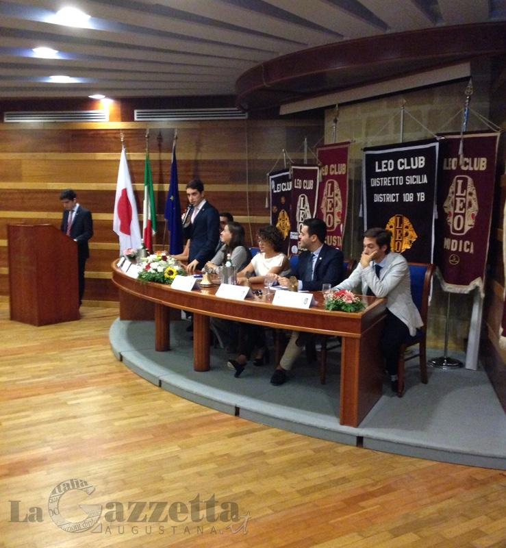 Cerimonia di apertura anno sociale 2015/2016 dei Leo Club IV Area operativa
