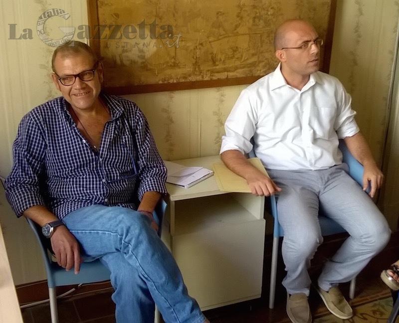 Marco Stella e Giuseppe Di Mare del movimento Cambiaugusta