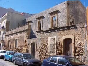 I ruderi dell'antica Ricetta di Malta, in via Cordai