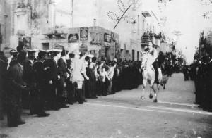Corsa dei cavalli, 1963