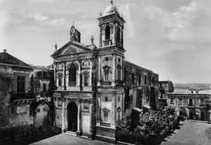 Piazza e chiesa di San Domenico, anni '50