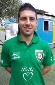 Dario Mangiameli, calciatore del Megara