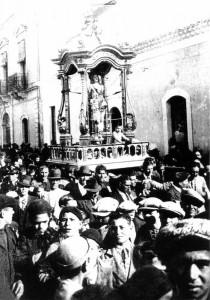 Processione di San Sebastiano, anni '30