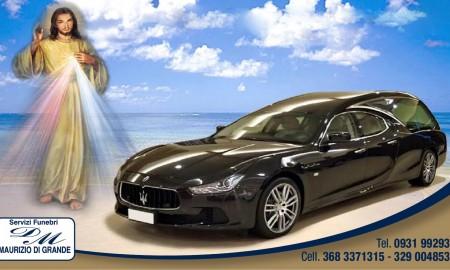 Servizi funebri Augusta di Di Grande Maurizio con Maserati