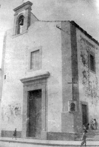 Chiesa di San Francesco d'Assisi, in via Principe Umberto, anni '30