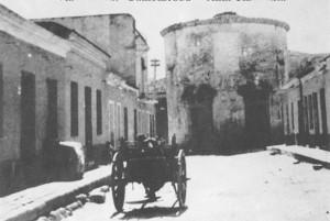 Chiesa della Madonna del Perpetuo Soccorso (do Bambineddu), in via Megara, anni '50