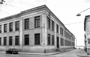 """Scuola """"Giovanni Pascoli"""", detta dei Cappuccini, anni '50"""