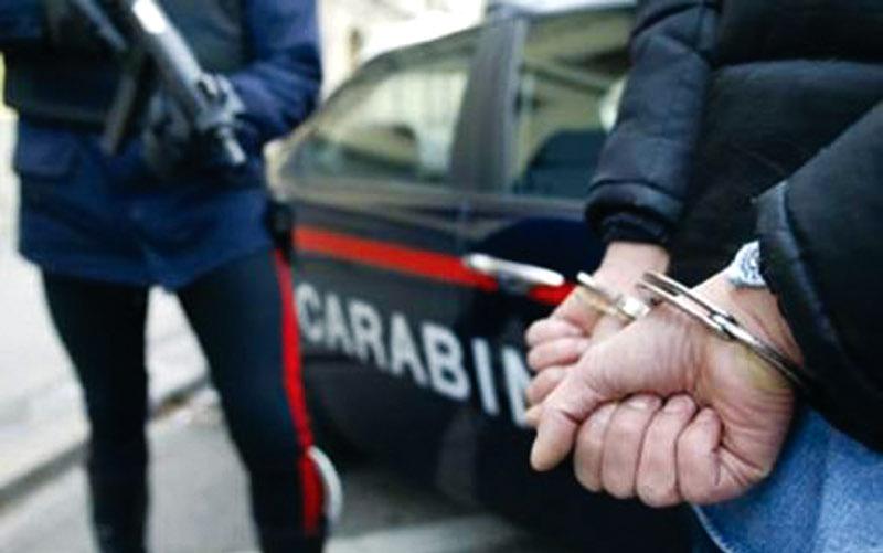 Cuoco 21enne arrestato per spaccio di stupefacenti