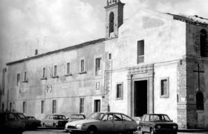 Convento e chiesa delle Grazie, anni '70