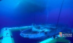 recupero-relitto-peschereccio-migranti