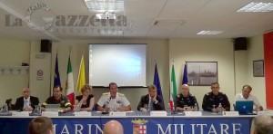 recupero-relitto-peschereccio-salme-migranti-marina-militare-conferenza-stampa