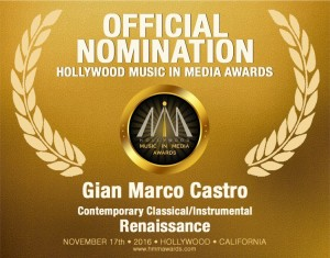 gian-marco-castro-nomination-hollywood-music-in-media-awards-2016