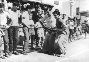 Giochi per i festeggiamenti in onore del Sacro Cuore, anni '70