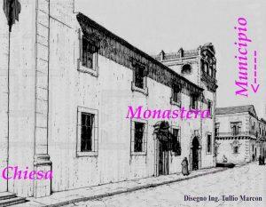 Il Monastero di Santa Caterina, ricostruzione di Tullio Marcon