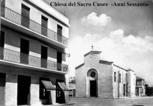 La Chiesa del Sacro Cuore di Gesù, anni '60