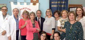 Collaborazione Inner Wheel club e Fratres: successo della giornata di pre-donazione di sangue