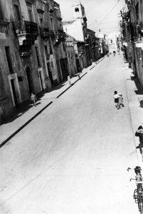 Via Giuseppe Garibaldi, anni '50