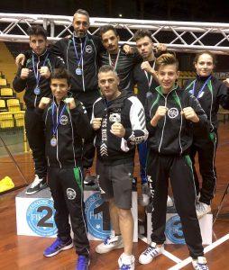 team-sosta-campionato-regionale-kickboxing-palacatania