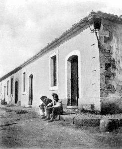 Via Alabo all'incrocio con Via Xifonia, anni '20