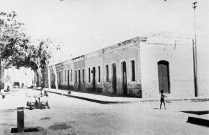 Incrocio tra viale Risorgimento e via Adua, anni '50