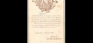 """Un documento storico sulla banda musicale che eseguì la prima """"messa augustanese"""""""