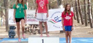 Canoa giovanile, tutti gli atleti della Rari 86 vanno a medaglia nella gara interregionale di Piana degli Albanesi