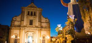 """150° anniversario dei festeggiamenti della Madonna Assunta, processione al """"rione San Giuseppe"""""""