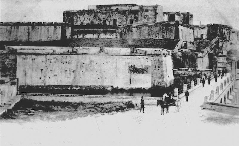 Il Castello non ancora adibito a Casa Penale, fine Ottocento