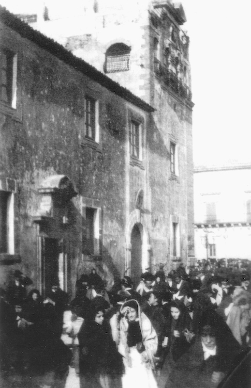 Monastero Santa Caterina, via Principe Umberto, inizio Novecento