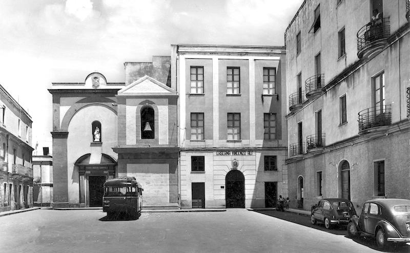 Piazza Carmine, anni cinquanta