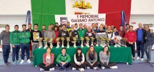 Grand prix regionale di bench press in memoria di Antonio Galvano, cinquanta atleti e ospiti di eccezione
