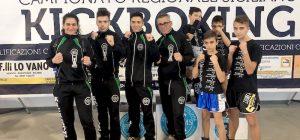 Kickboxing, due medaglie del Team Sosta al campionato regionale tatami di Sant'Agata di Militello