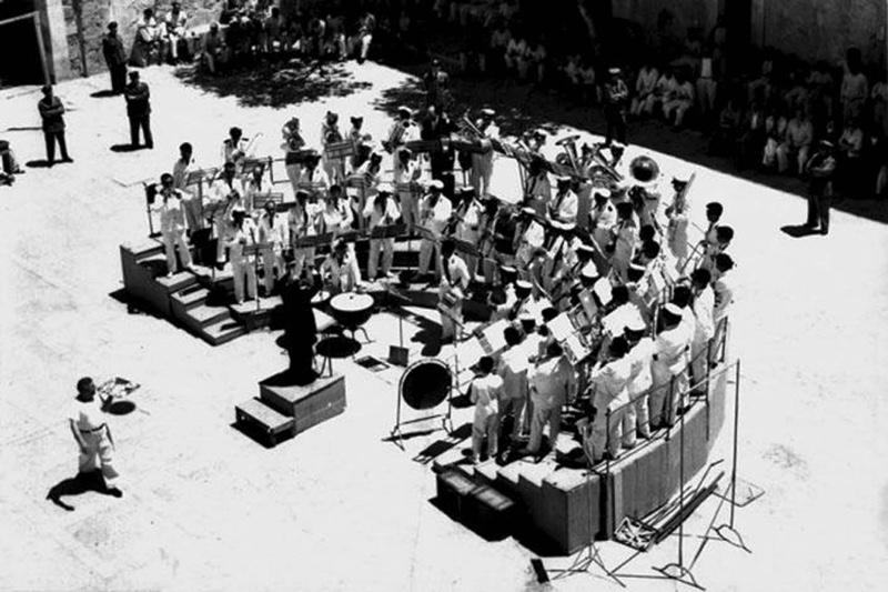 Concerto Casa Penale, anno 1953