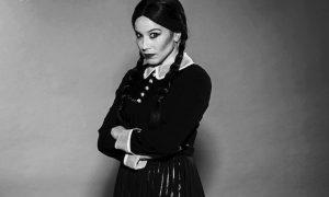 """L'augustana Lucia Blanco con Gabriele Cirilli nel musical """"La famiglia Addams"""""""