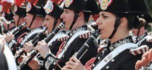 La Fanfara dei carabinieri al Palajonio di Augusta, concerto aperto alla cittadinanza