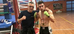 Kickboxing day, l'augustano Rizza debutta e vince all'evento federale catanese