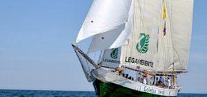 Goletta Verde in arrivo ad Augusta, domenica sit-in contro gli scarichi fognari in mare
