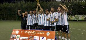 """Calcio a 5 amatoriale, l'Argentina alza al cielo la """"Coppa del mondo"""" del torneo Gollonzo"""