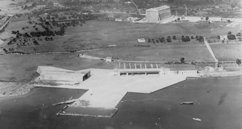 Augusta, Idroscalo anni '50